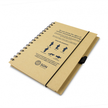 Natural A5 Recycled Notebook